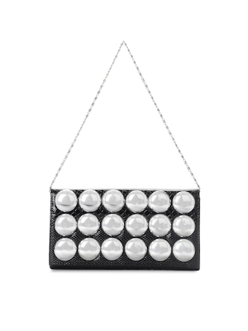 Mod'acc Women Black Clutch