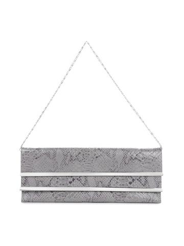 Mod'acc Women Grey Clutch