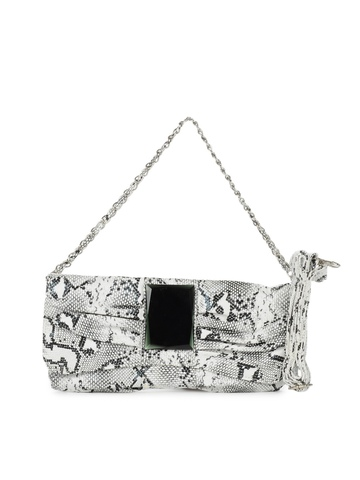 Mod'acc Women White Clutch