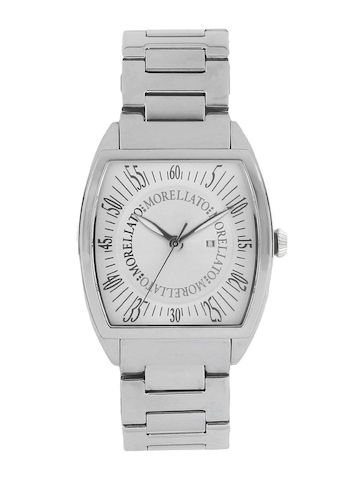 Morellato Men Silver Dial Watch
