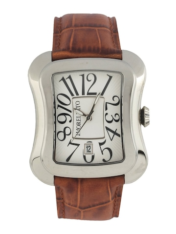Morellato Men Silver Dial Watch