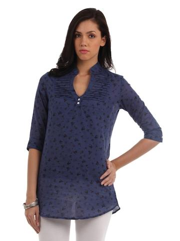 Mumbai Slang Women Blue Tunic