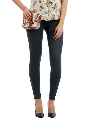 Myntra Women Navy Blue Jeggings