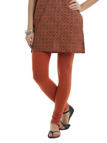 Myntra Women Rust Leggings