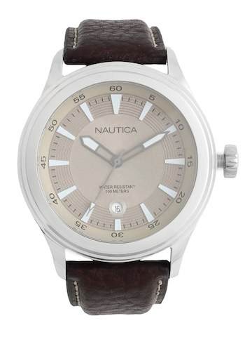 Nautica Brown Dial Watch