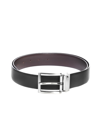 New Hide Men Black & Brown Reversible Belt
