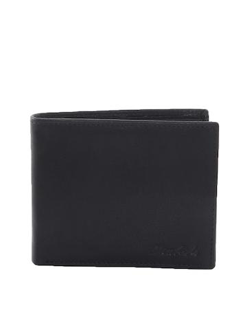 New Hide Men Black Wallet