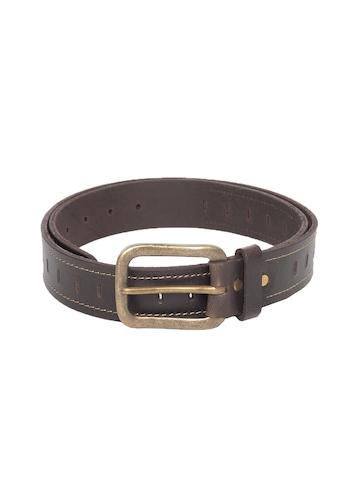 New Hide Men Brown Belt