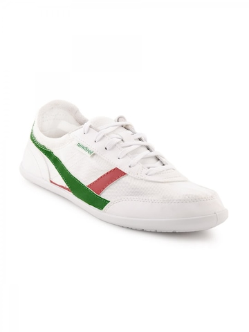 Newfeel Unisex White Shoes