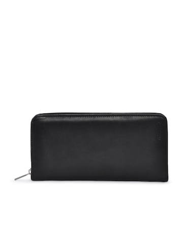 Newhide Black Unisex Travel Pouch Passport Holder