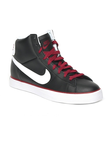 Nike Men Black Sweet Classic High Casual Shoes