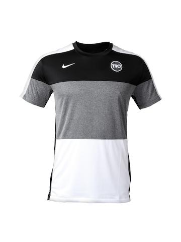 Nike Men Black T-shirt