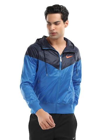 Nike Men Blue Windrunner Jacket