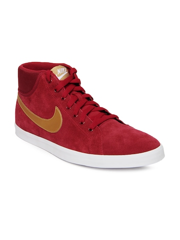 Nike Red Eastham Mid Casual Shoes