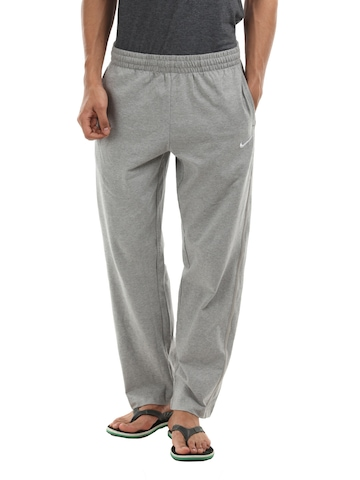 Nike Men Grey Melange Track Pants