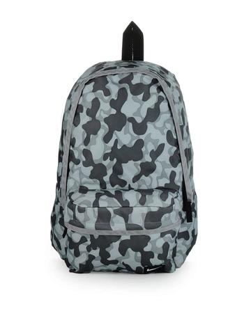 Nike Men Grey Printed Backpack