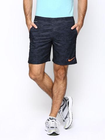 Nike Men Navy AS GPX Strike PR LGR WVN Football Shorts
