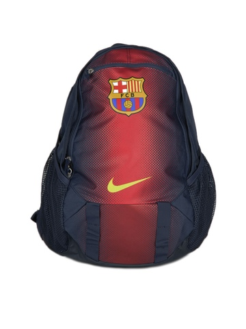 Nike Men Navy Blue FCB Backpack