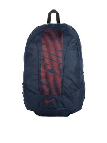 Nike Men Navy Blue Backpack