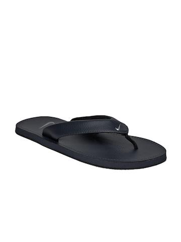 Nike Men Navy Blue Flip Flops