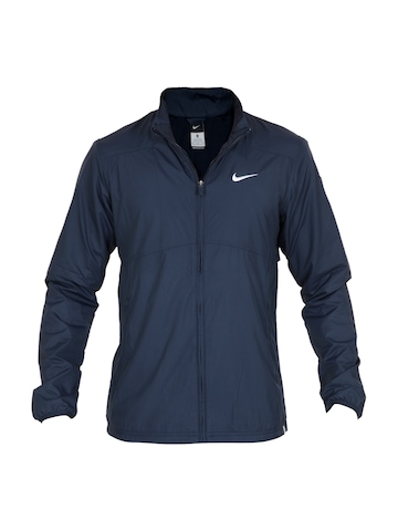 Nike Men Navy Blue Jacket
