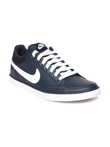 Nike Men Navy Capri III Low Leather Casual Shoes
