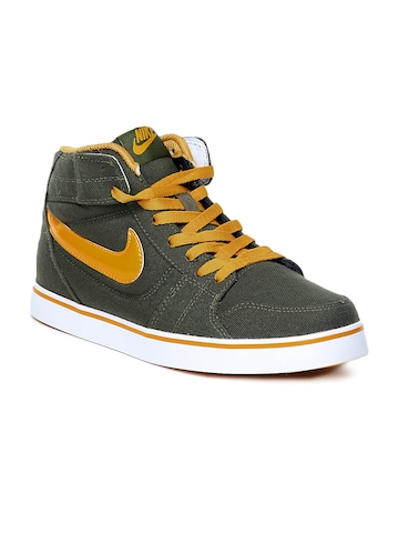 Nike Men Olive Liteforce Mid Casual Shoes