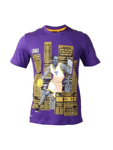 Nike Men Purple T-shirt