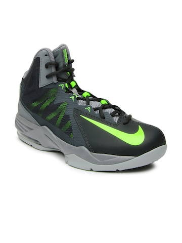 2a275c0dc3b7c Nike Men Grey Air Max Stutter Step 2 Basketball Shoes available at Myntra  for Rs.