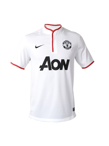 Nike Men White Machester United Jersey