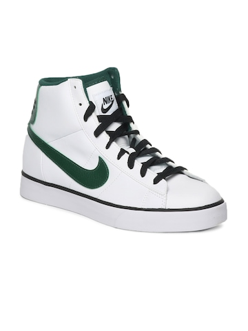 Nike Men White Sweet Classic High Casual Shoes