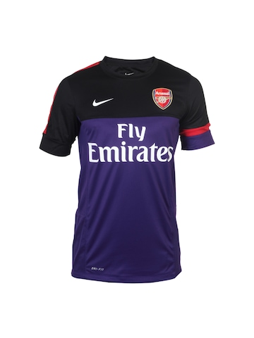 Nike Men Purple Arsenal Jersey