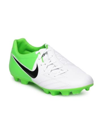 Nike Men White T90 Shoot Sports Shoes