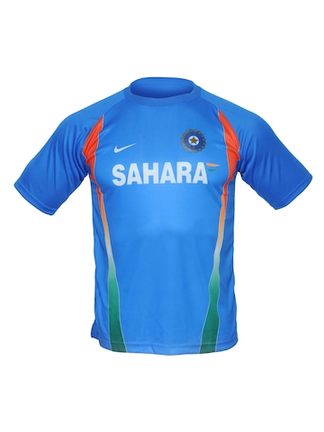 Nike Sahara Team India Fanwear Round Neck Jersey