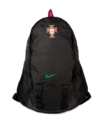 Nike Unisex Black Football Portugal Striker Backpack