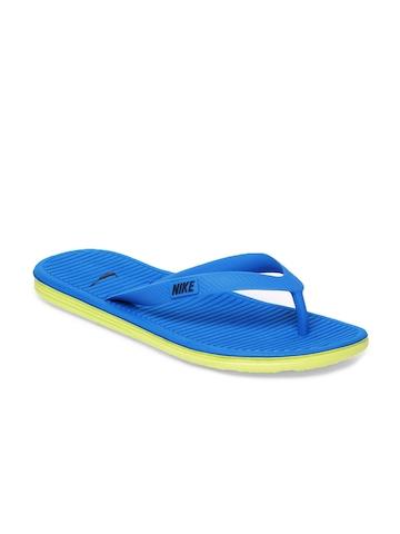 Nike Women Blue Flip Flops