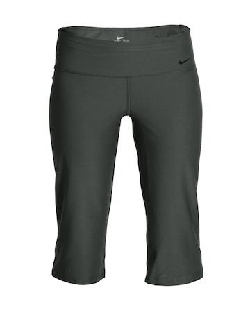 Nike Women Charcoal Capri