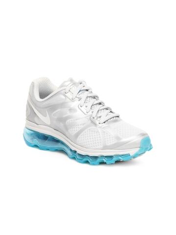 Nike Women Grey Air Max + 2012 Sports Shoes