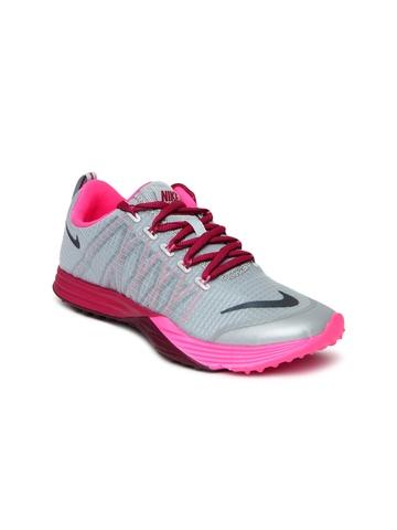 Nike Women Green Lunar Launch Sports Shoes