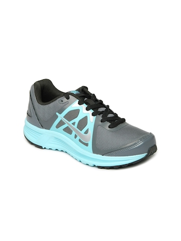 Nike Women Grey & Blue Emerge Sports Shoes