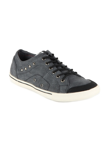 North Star Men Grey Alfred Casual Shoes