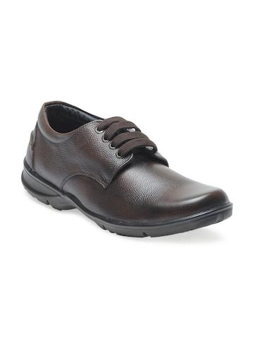 Numero Uno Men Brown Formal Shoes