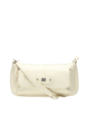 Nyk Women Off White Sling Bag