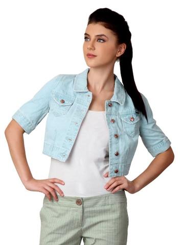 ONLY Women Blue Jacket