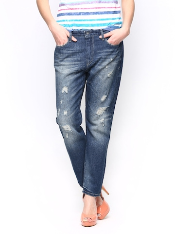 ONLY Women Blue Jeans at myntra