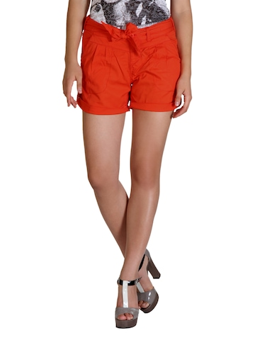 ONLY Women Orange Shorts