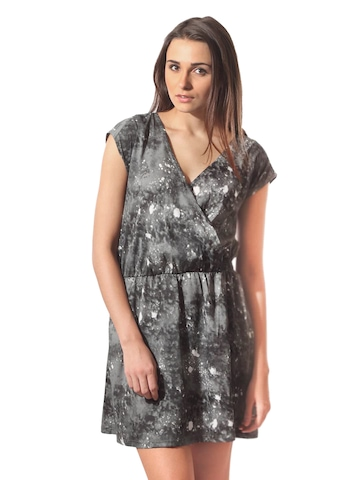 ONLY Women Toronto Grey Printed Dress