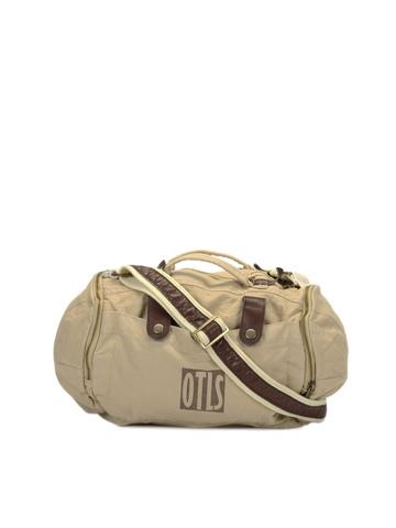 OTLS Unisex Beige Duffle Bag
