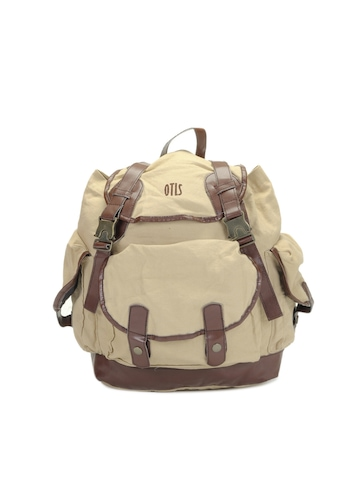 OTLS Unisex Beige Backpack