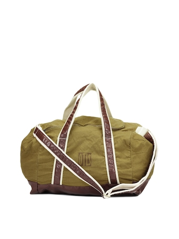 OTLS Unisex Mustard Brown Bag